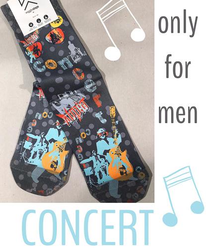 Wigglesteps Socken Concert